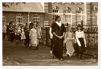 Victorian Reenactment at Coalbrookdale School