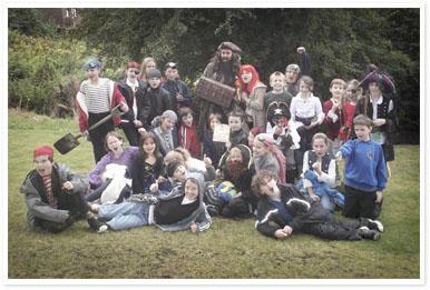 Pirate Week at Coalbrookdale School